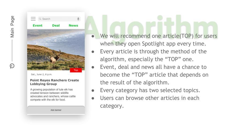 Spotlight_main page
